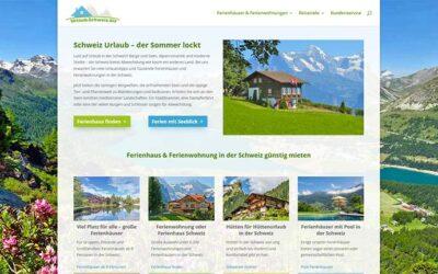 Urlaubsportal für die Schweiz